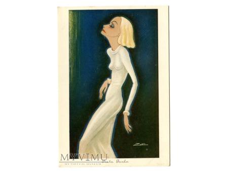 Album luz kartka Marlene Dietrich Greta Garbo 48