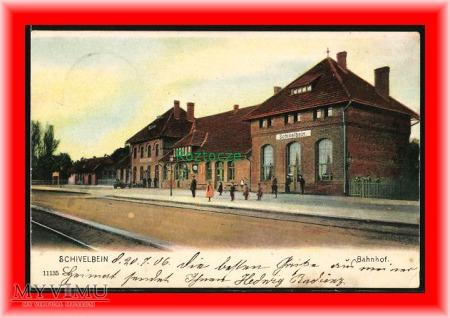 ŚWIDWIN Schivelbein, Dworzec kolejowy