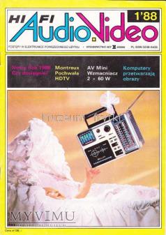 Duże zdjęcie AUDIO Hi-Fi VIDEO 1988 rok, cz.I