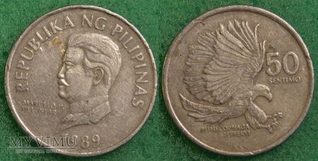 Duże zdjęcie Filipiny, 50 SENTIMO 1989