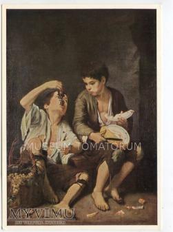 Murillo - Chłopcy jedzący winogrona i melony