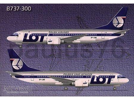Boeing 737-36N, SP-LMD