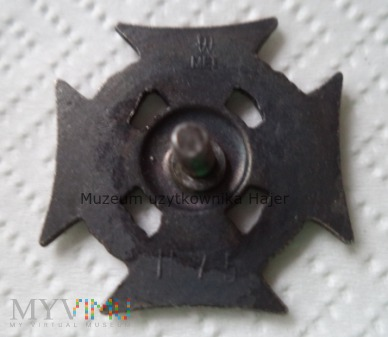 H 75 Krzyż harcerski ZHP CZUWAJ