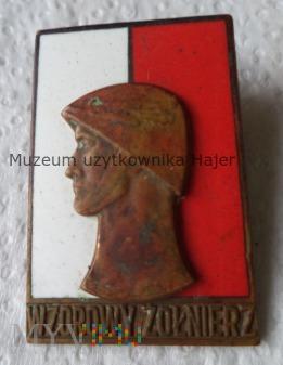 WZOROWY ŻOŁNIERZ II stopnia Wzór 1961 odznaka