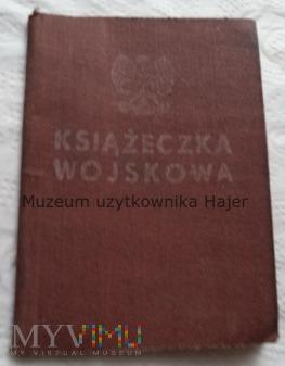 Książeczka Wojskowa 1957 rok