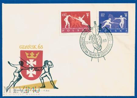 XXVIII Mistrzostwa Świata w szermierce .29.6.1964.