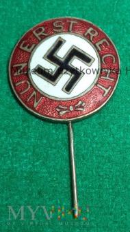 NUN ERST RECHT odznaka