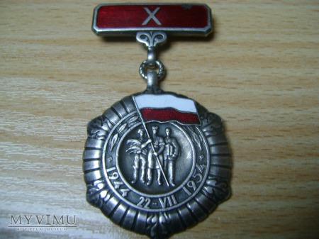 odznaczenie 10-lecie Polski Ludowej