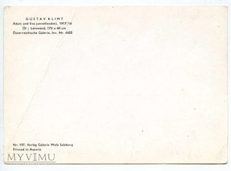 Gustav Klimt - Adam i Ewa
