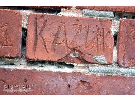 """Duże zdjęcie """"Stara Prochownia"""" - budynek A - inskrypcja #017"""