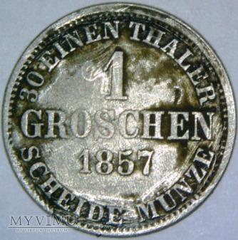 Niemcy/Księstwo Brunszwiku - 1 groschen 1857