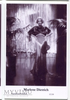 Marlene Dietrich Swiftsure Postcards 17/19
