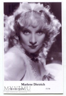Marlene Dietrich Swiftsure Postcards 17/30
