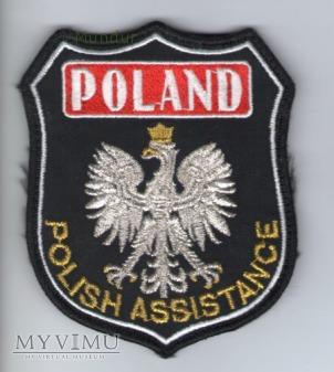 """Emblemat PSP dla """"misjonarzy"""""""
