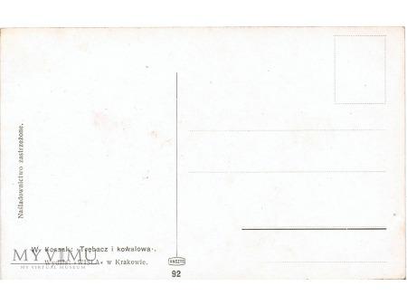 Trębacz i kowalowa - W.Kossak