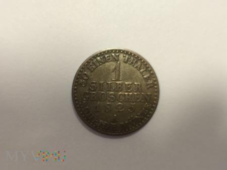 1 SREBNY GROSZ -FRYDERYK WILHELM III-1825