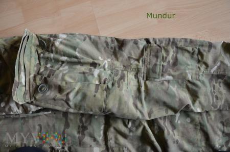 Spodnie kombinezonu ćwiczebnego multicam