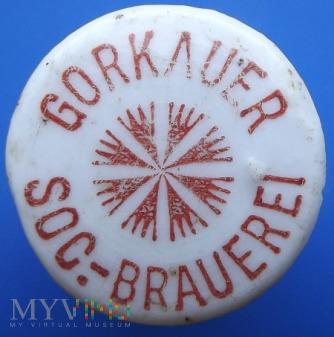 Gorkauer Soc.- brauerei