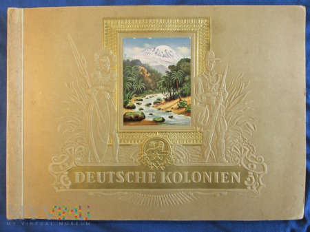 Książka propagandowa-Deutsche Kolonien
