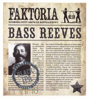 faktoria, bass reeves