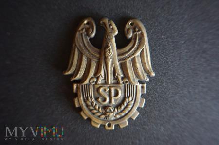 Orzełek na czapkę Służba Polsce