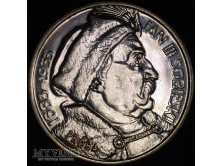 10 złotych 1933 Jan III Sobieski PROBA