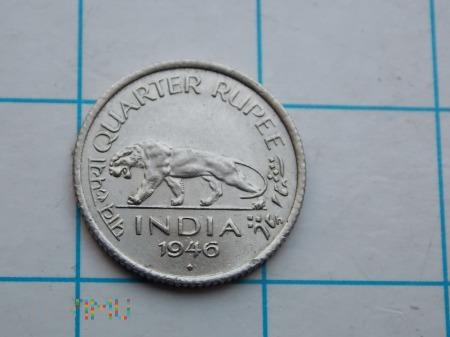1/4 RUPI 1946 - INDIE