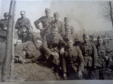 Duże zdjęcie Grupa niemieckich żołnierzy