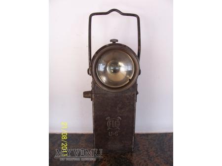 GÓRNICZA LAMPA AKUMULATOROWA - TYP U-6