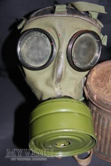Niemiecka maska przeciwgazowa