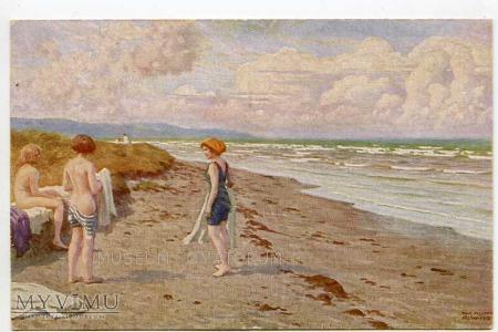 Fischer - Kąpiel w morzu