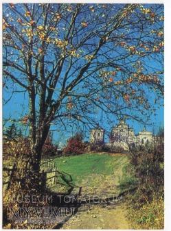 Duże zdjęcie Góry Świętokrzyskie Klasztor Święty Krzyż 1969
