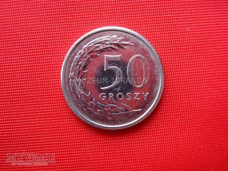50 groszy 2012 rok