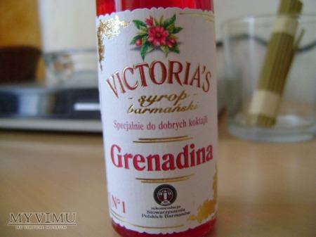 Grenadina - syrop do drinków