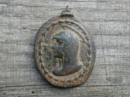 Medalik SALVATOR MUNDI - MATER DEI