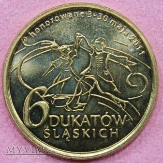 6 DUKATÓW ŚLĄSKICH, 2011, 2012