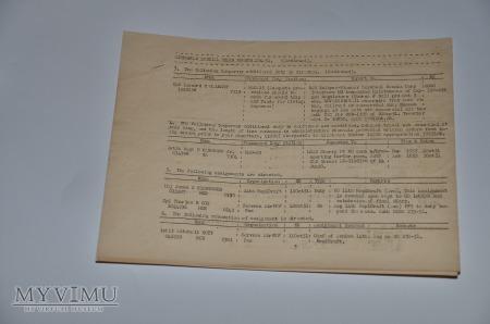 Rozkaz specjalny nr. 284-51 USMC