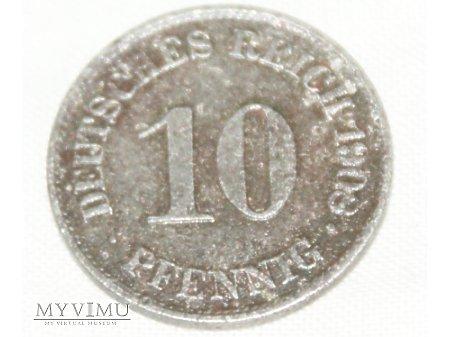 10 pfennig 1908 A