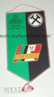 Proporczyk ZSG KWK Barbara-Chorzów ul Sportowa 23