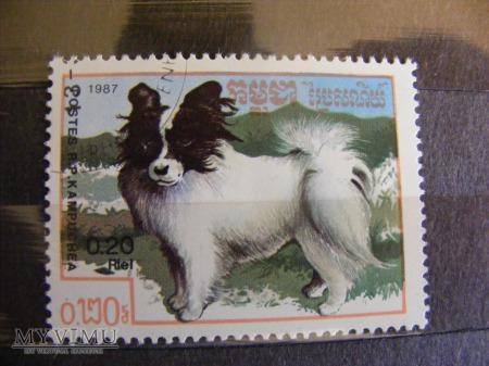 Znaczki z Kampuczy