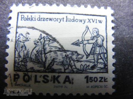 Polski drzeworyt ludowy XVIw
