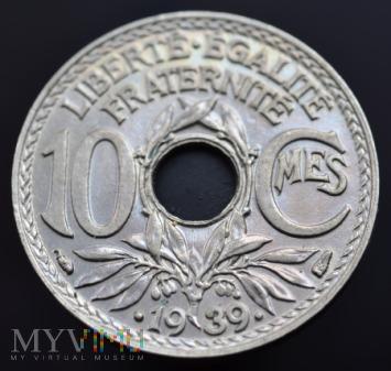 10 Centimes 1939