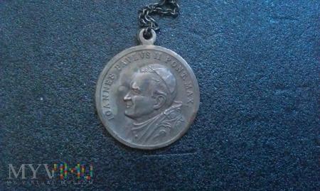 Medalik Joannes Pavlvs II Pont. Max.