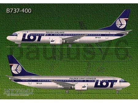 Boeing 737-45D, SP-LLA