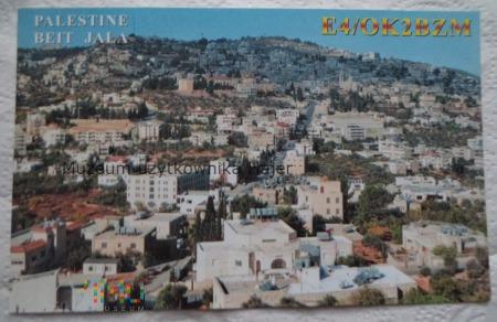 Palestyna Beit Jala Karta QSL