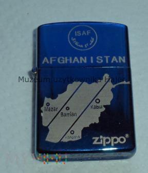 ZIPPO Afganistan ISAF zapalniczka benzynowa