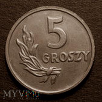 5 groszy - 1949 r. Polska