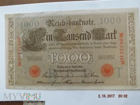 1000 Marek 1910r.