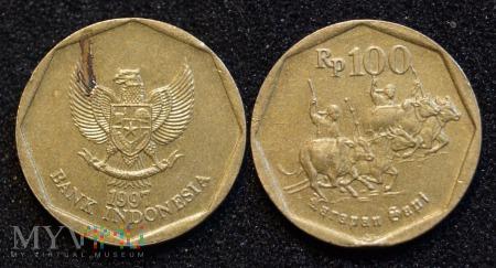 Indonezja, 100 RUPIAH 1997