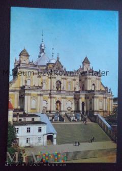 WAMBIERZYCE Bazylika zbudowane w l. 1724-30 - fasa